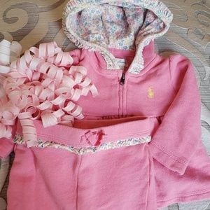 💞Ralph Lauren Fancy Sweat Suit💞
